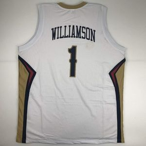 Zion Williamson New Orleans White Basketball